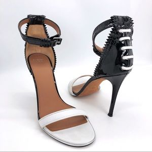 Givenchy Authentic Spiked 2 Tone Nadia Sandals NWT